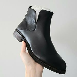 NWB Franco Sarto Hyla Ankle Boot Black Siz…